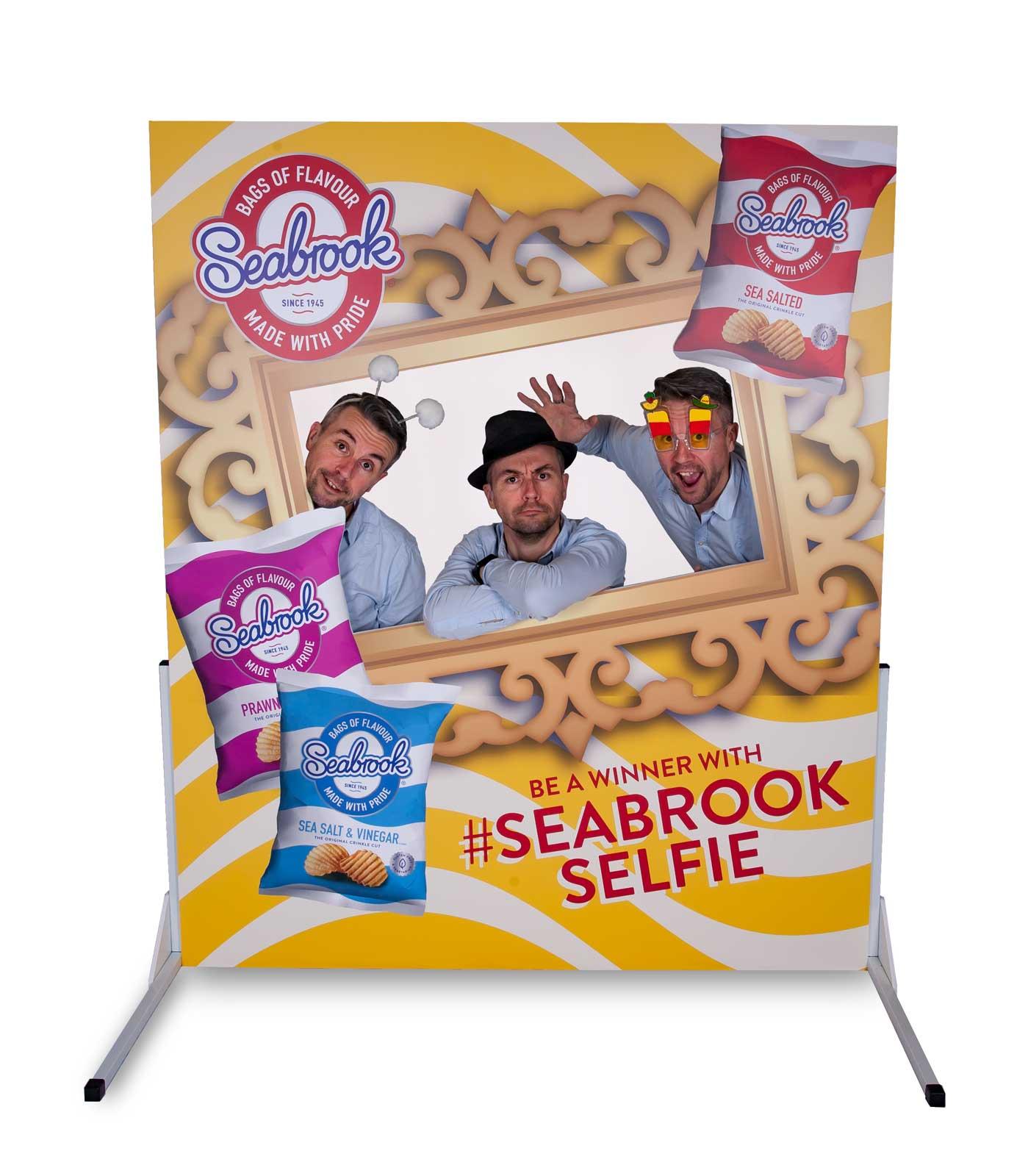 Photo cutout board marketing