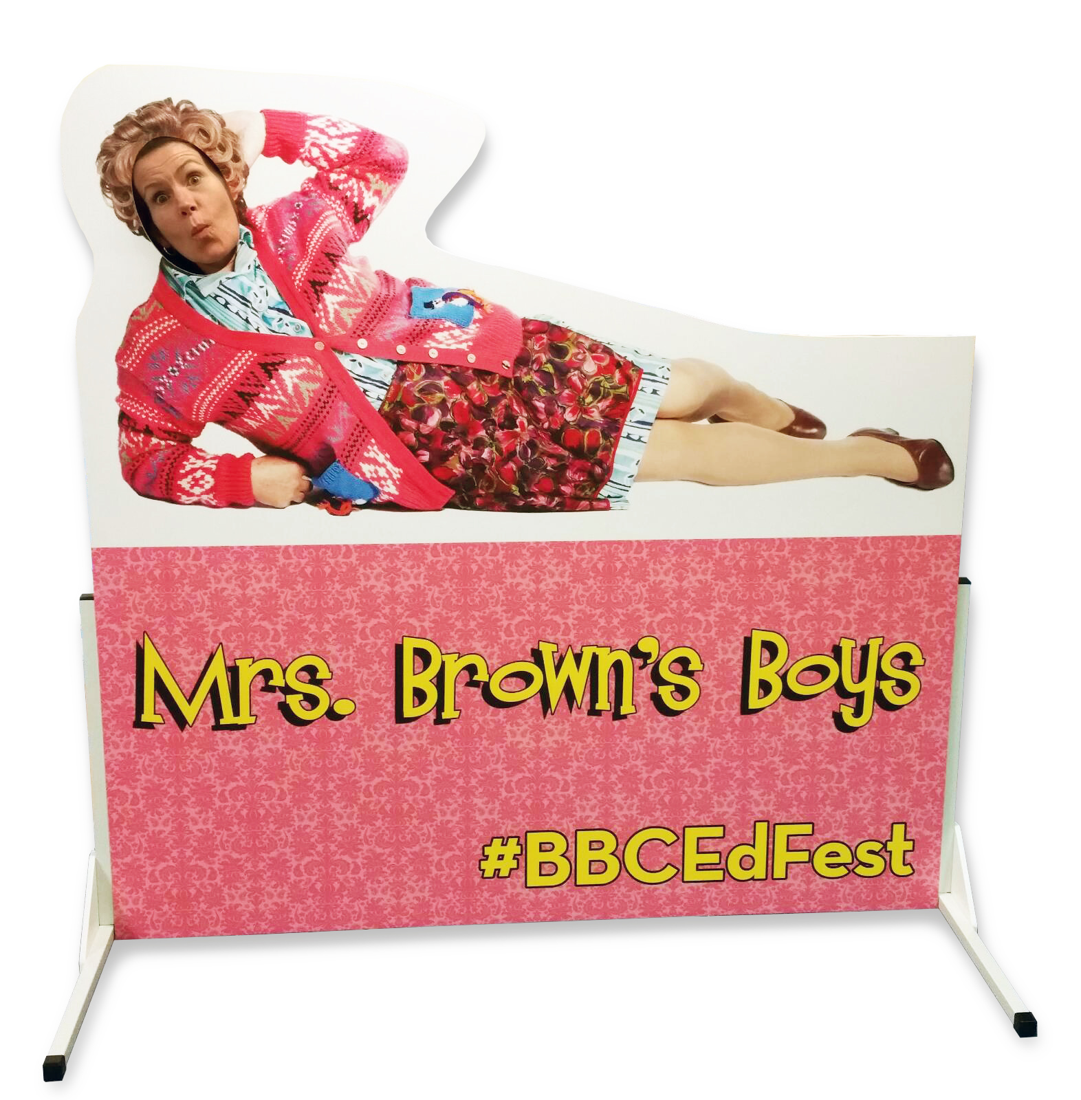 Mrs Brown's Boys board for the BBC