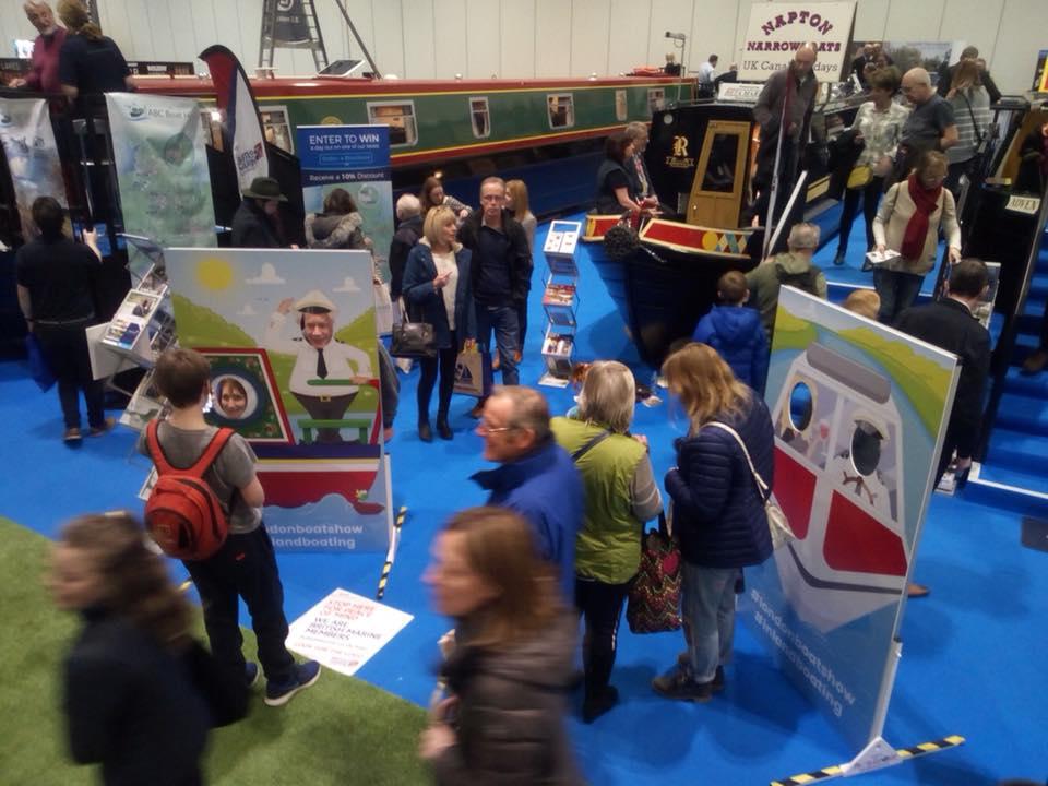 london boat show uk boat hire marketing