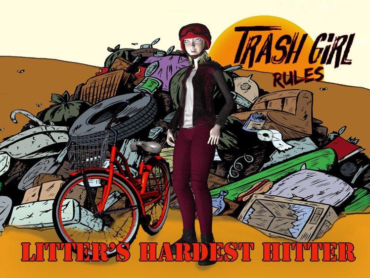 Keep Britain Tidy Nadia Sparkes Trash Girl