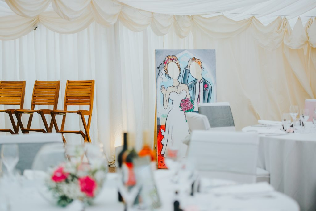 Wedding photo cutout hire