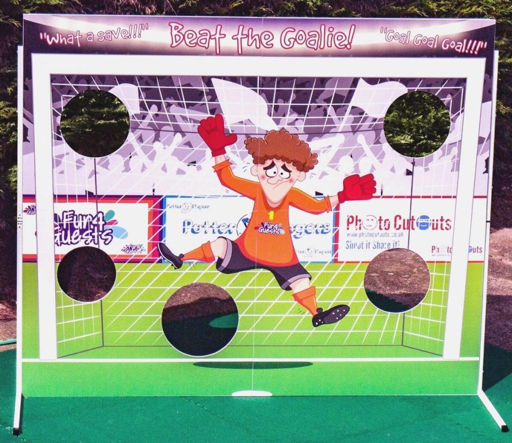 Football goalie board