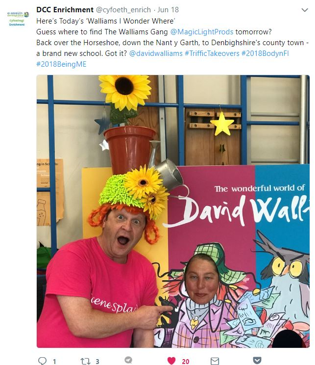 Walliams T'riffic Takeovers