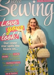 Love Sewing magazine cover star