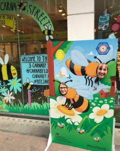 Bees animals photo cutouts