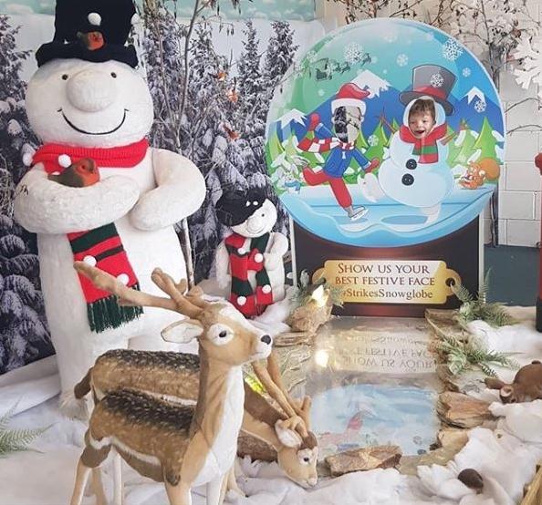 Snow Globe scene