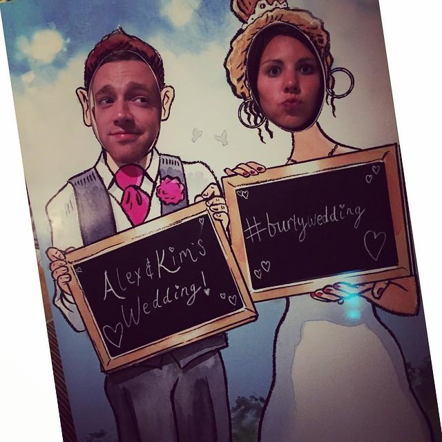 photobooth, photo booth, photo cutouts, weddings