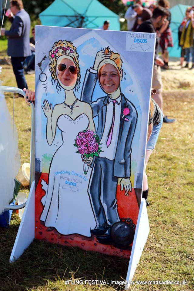 wedding suppliers, wedding industry, face in hole boards