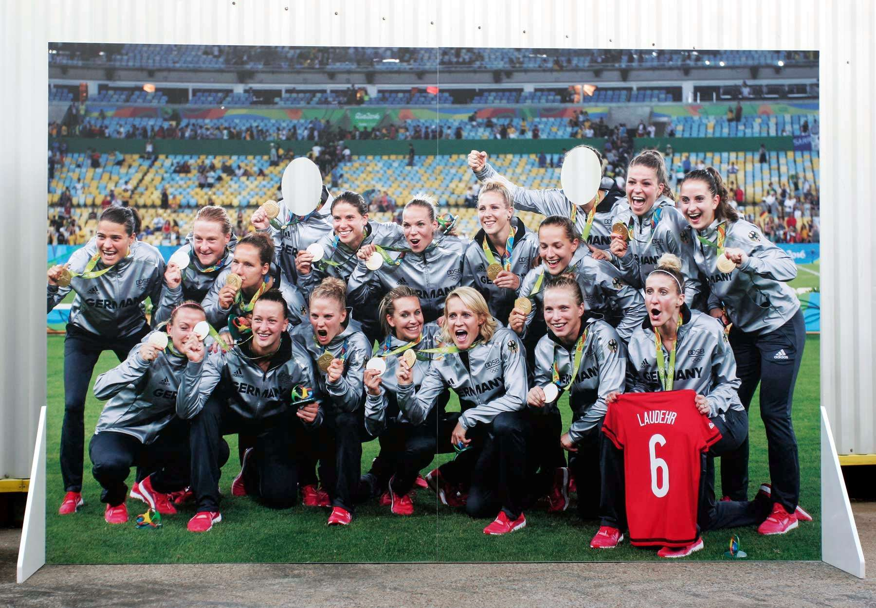 German women's football team, rio 2016, gold medal
