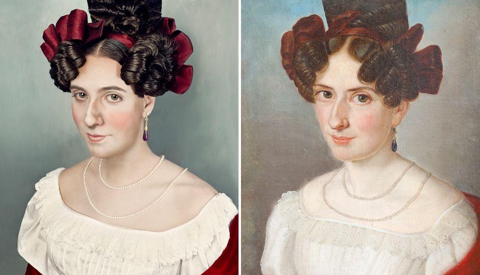 ancestors portrait reconstruction