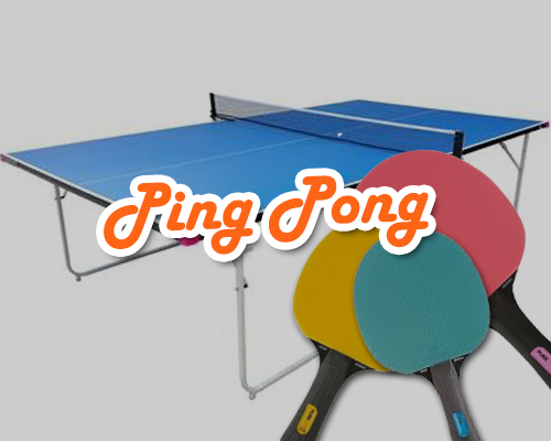 ping pong, table tennis, wedding games hire