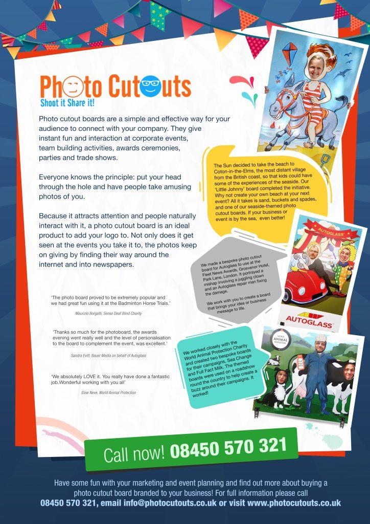 Photocutouts leaflet