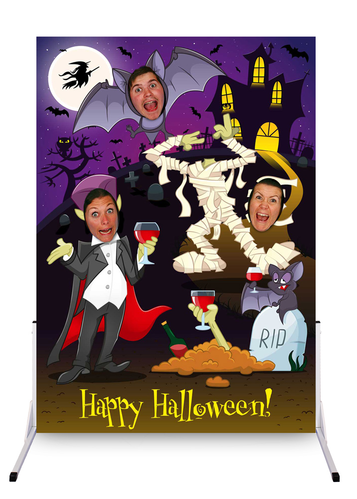 Halloween photo cutouts