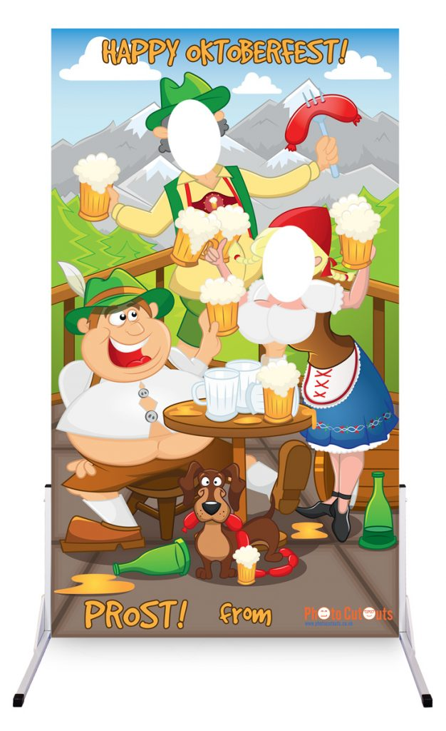 Oktoberfest festivals UK photo board