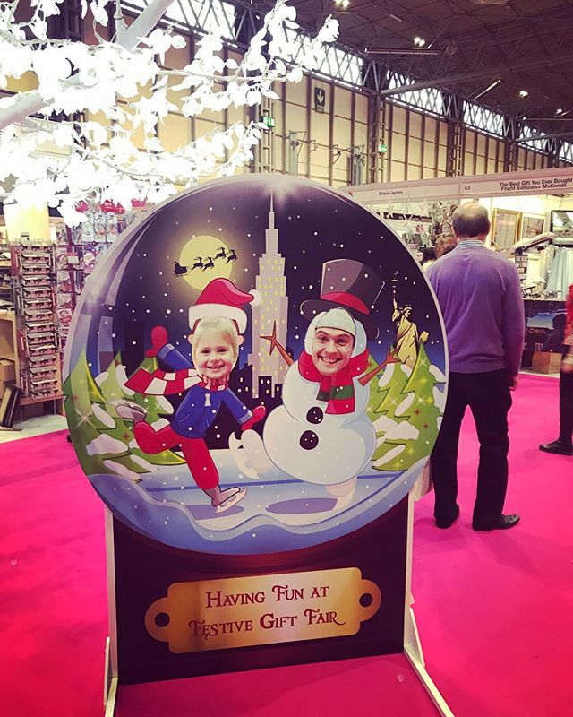 Snow globe Christmas marketing variety