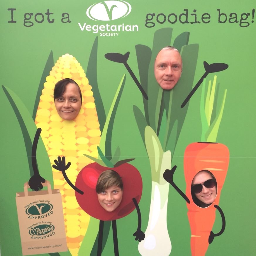 VegSoc photo cutout board