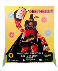standard fireworks seasonal campaign
