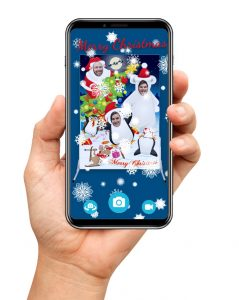 AR Christmas photo boards