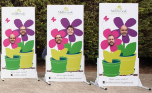 Millbrook garden centres interact with shoppers