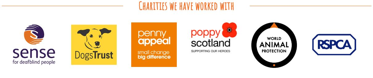 Charities We Have Worked With