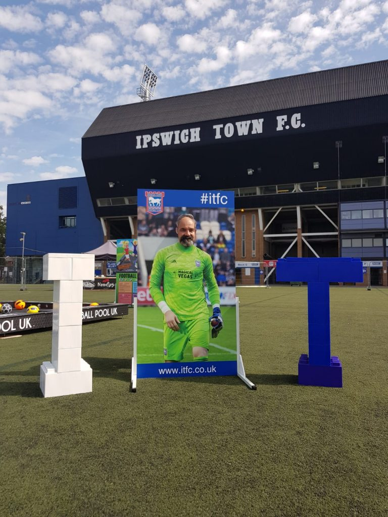 Football Fanzone Photo Board_Ipswich Town FC