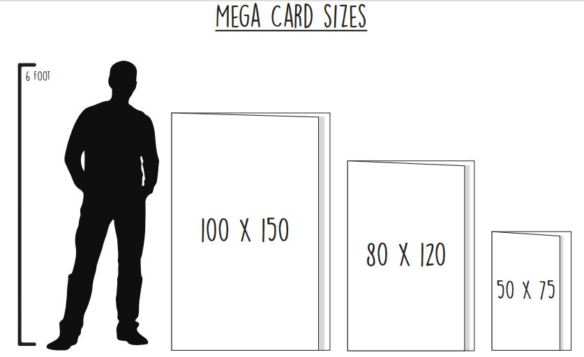 Giant card sizes