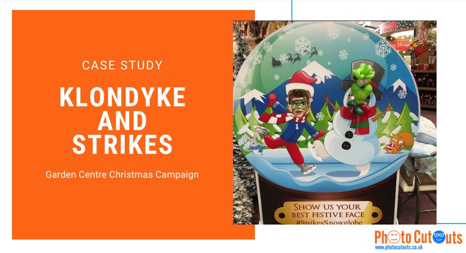 Klondyke and Strikes festive photo competition case study