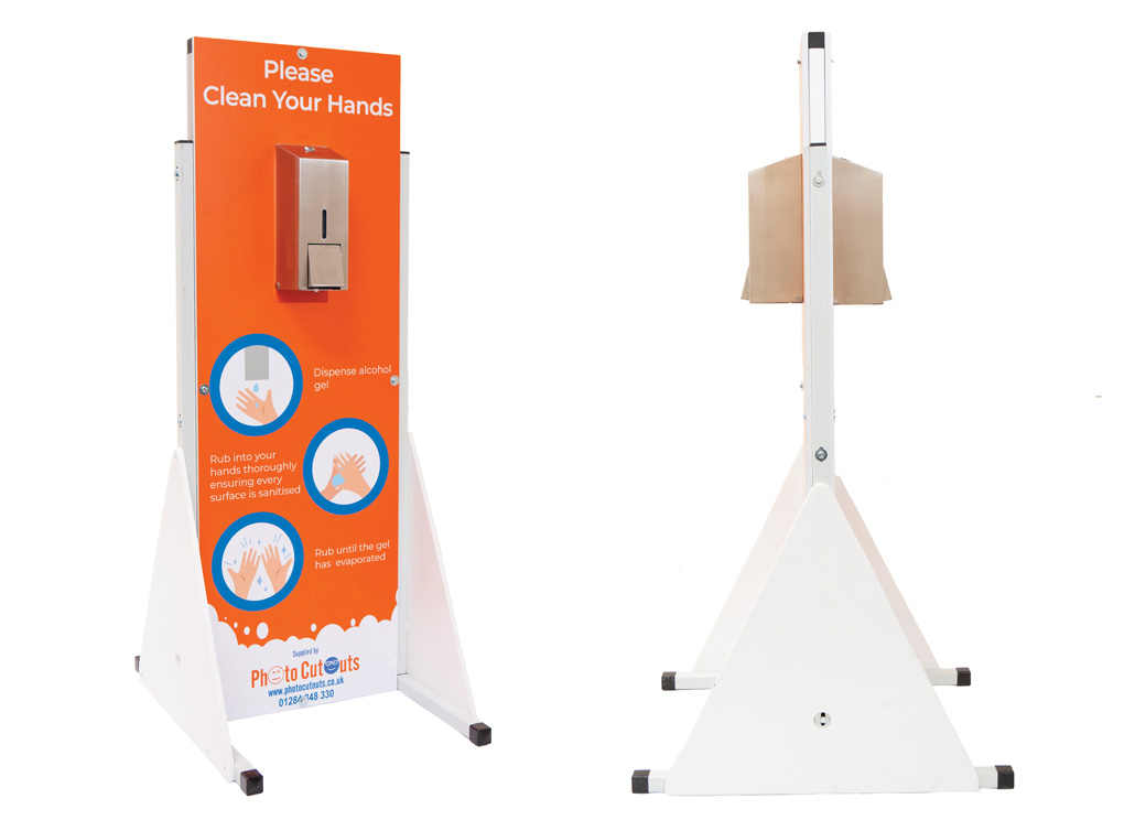 Hand Sanitiser Stations for conferences and exhibitions