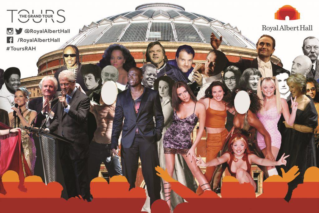 Royal Albert Hall photo board