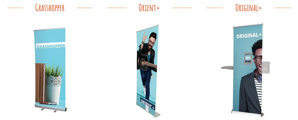 Roller banners for Christmas marketing ideas